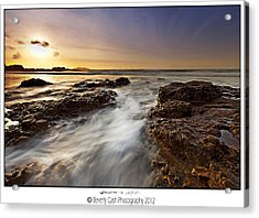 Acrylic Print featuring the photograph Afternoon Tide by Beverly Cash