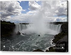 Against The Current Acrylic Print by Amanda Barcon
