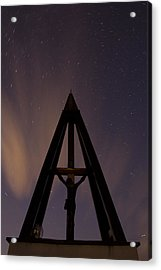 Against The Stars Acrylic Print by Ian Middleton