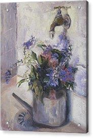 Agnes Floral Acrylic Print