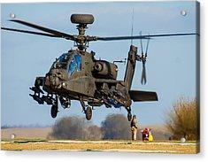 Ah64 Apache Acrylic Print