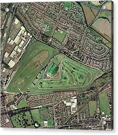 Aintree Horse Racing Track, Aerial Image Acrylic Print