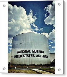 Air Force Museum Acrylic Print