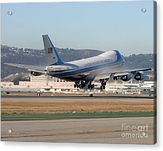 Acrylic Print featuring the photograph Air Force One by Alex Esguerra