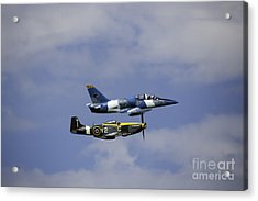 Air Show 2 Acrylic Print by Darcy Evans