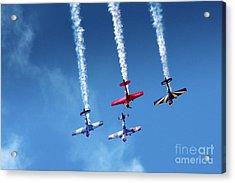 Air Show Acrylic Print by Carlos Caetano