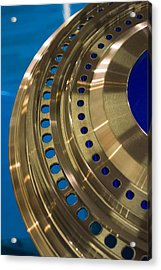 Aircraft Engine Component Acrylic Print by Mark Williamson