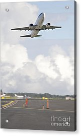 Airplane Taking Off Acrylic Print by Jaak Nilson