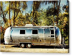 Airstream Acrylic Print by HD Connelly