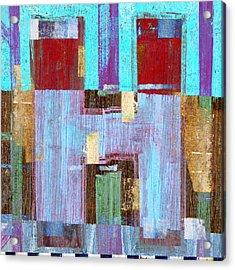 Aitch Acrylic Print by Carol Leigh