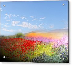 Ajofrin En Primavera Acrylic Print by Alfonso Garcia