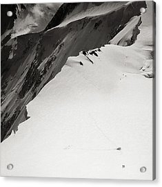 Akkem Wall. Western Plateau Acrylic Print by Konstantin Dikovsky