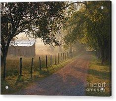 Alabama Morning Acrylic Print by Don F  Bradford