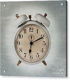 Alarm Clock Acrylic Print by Bernard Jaubert