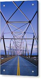 Alaska Native Veterans Honor Bridge Acrylic Print by Yves Marcoux
