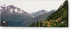Alaskan Train Acrylic Print