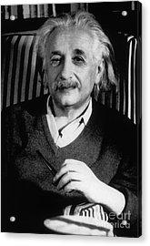 Albert Einstein, German-american Acrylic Print by Science Source