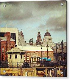 #albertdock #liverpool #city #uk Acrylic Print