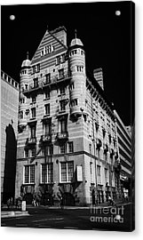 Albion House James Street Liverpool Former Offices Of The White Star Line  Acrylic Print by Joe Fox
