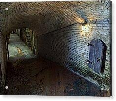 Alcatraz 1866 Tunnel Acrylic Print by Daniel Hagerman