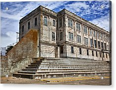 Alcatraz Cellhouse  Acrylic Print by Garry Gay