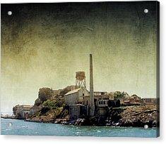 Alcatraz Acrylic Print by Ellen Heaverlo