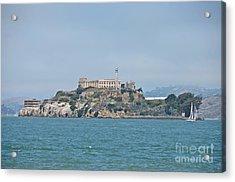 Alcatraz Island Acrylic Print by Cassie Marie Photography