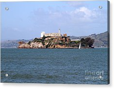 Alcatraz Island In San Francisco California . South Side . 7d14288 Acrylic Print by Wingsdomain Art and Photography