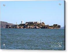 Alcatraz Island In San Francisco California . West Side . 7d14007 Acrylic Print by Wingsdomain Art and Photography