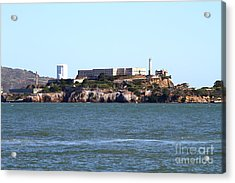 Alcatraz Island In San Francisco California . West Side . 7d14031 Acrylic Print by Wingsdomain Art and Photography
