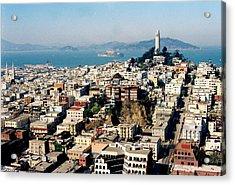 Alcatraz Acrylic Print by Trent Mallett