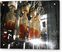 Alcoholic Drinks Production, Russia Acrylic Print by Ria Novosti