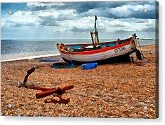 Aldeburgh Fishing Boat Acrylic Print