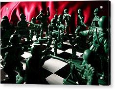 Alekhine's Gun Acrylic Print by Lon Casler Bixby