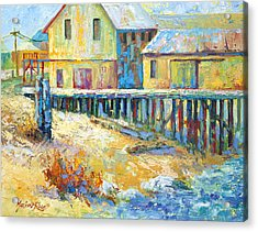 Alert Bay Cannery Acrylic Print by Marion Rose