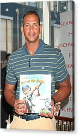 Alex Rodriguez At In-store Appearance Acrylic Print