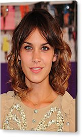 Alexa Chung In Attendance For The 2010 Acrylic Print by Everett