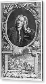 Alexander Pope, English Poet Acrylic Print