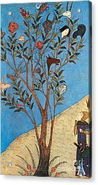 Alexander The Great At The Oracular Tree Acrylic Print by Photo Researchers