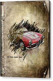 Alfa Romeo Acrylic Print by Svetlana Sewell