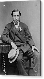 Alfred, Duke Of Saxe-coburg And Gotha Acrylic Print by Everett