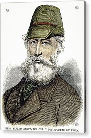 Alfred Krupp (1812-1887) Acrylic Print by Granger