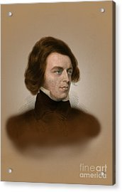 Alfred, Lord Tennyson, English Poet Acrylic Print by Science Source