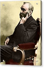 Alfred Nobel, Swedish Chemist Acrylic Print by Science Source