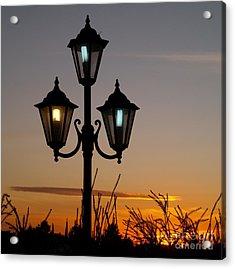 Algarve Lamps Acrylic Print
