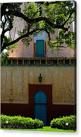 Alhambra Water Tower Doors Acrylic Print