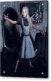 Alice  Acrylic Print by Maynard Ellis