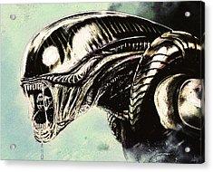 Alien Acrylic Print by Jeff DOttavio