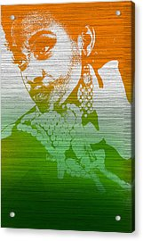 Aliyah Acrylic Print by Naxart Studio