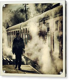 All Aboard (2) # North #yorkshire Acrylic Print